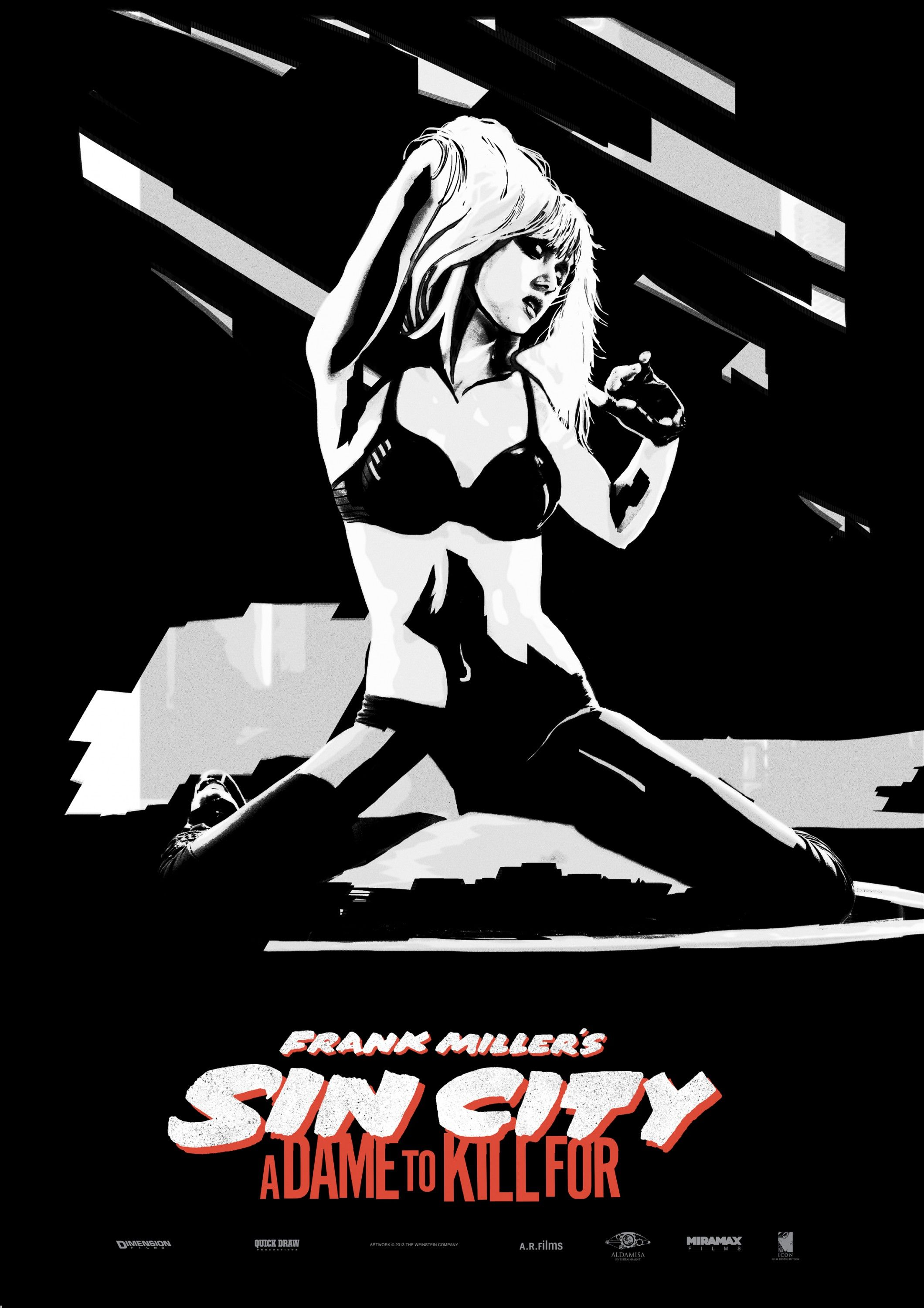 Sin City A Dame To Kill For Poster Nancy Callahan Sin City Movie Frank Miller Sin City Frank Miller Art