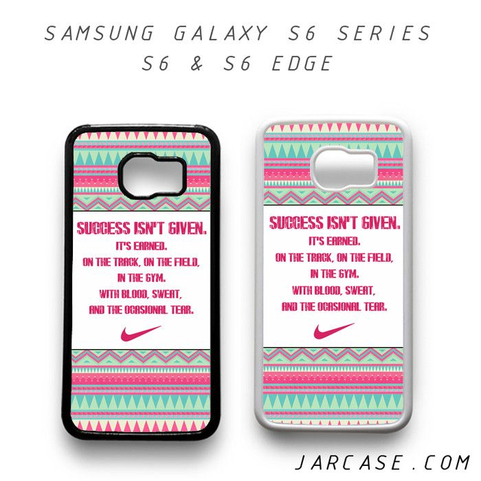 Samsung Quote Glamorous Nike Aztec Quote Phone Case For Samsung Galaxy S6 & S6 Edge