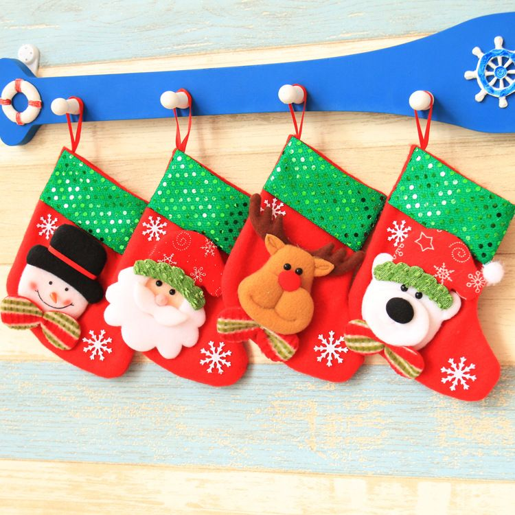 Pin By 365 On Lazada Products Cheap Christmas Stockings Christmas Gift Bags Decorated Gift Bags