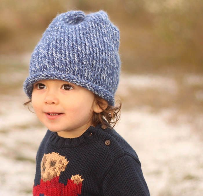 Free Toddler Slouch Beanie Knitting Pattern 8d70f8e8d27