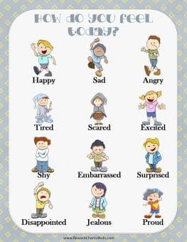 names of emotions and feelings