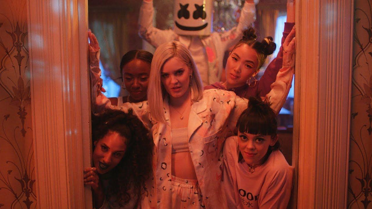 Marshmello Anne Marie Friends Music Video Official Friendzone Anthem Music Videos Happy Music Video Friendzone