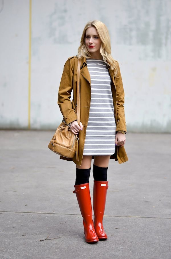 Katie's Bliss: Hunter Tall Red Rain Boots | Outfits I Love ...