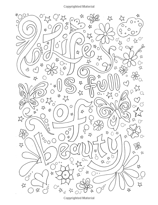 Amazon.com: Adult Coloring Books Good vibes: Enjoy Every