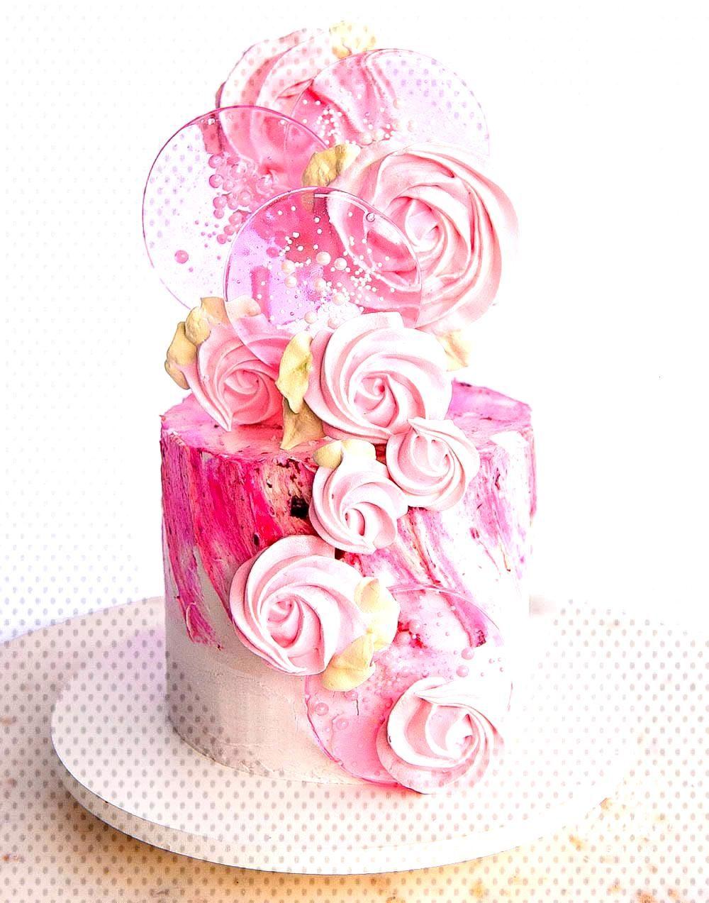pops ideas Spring Pop Cake (Meringue and Lollipop) | Sugar Geek Show   Lo mas sugestivo Día de