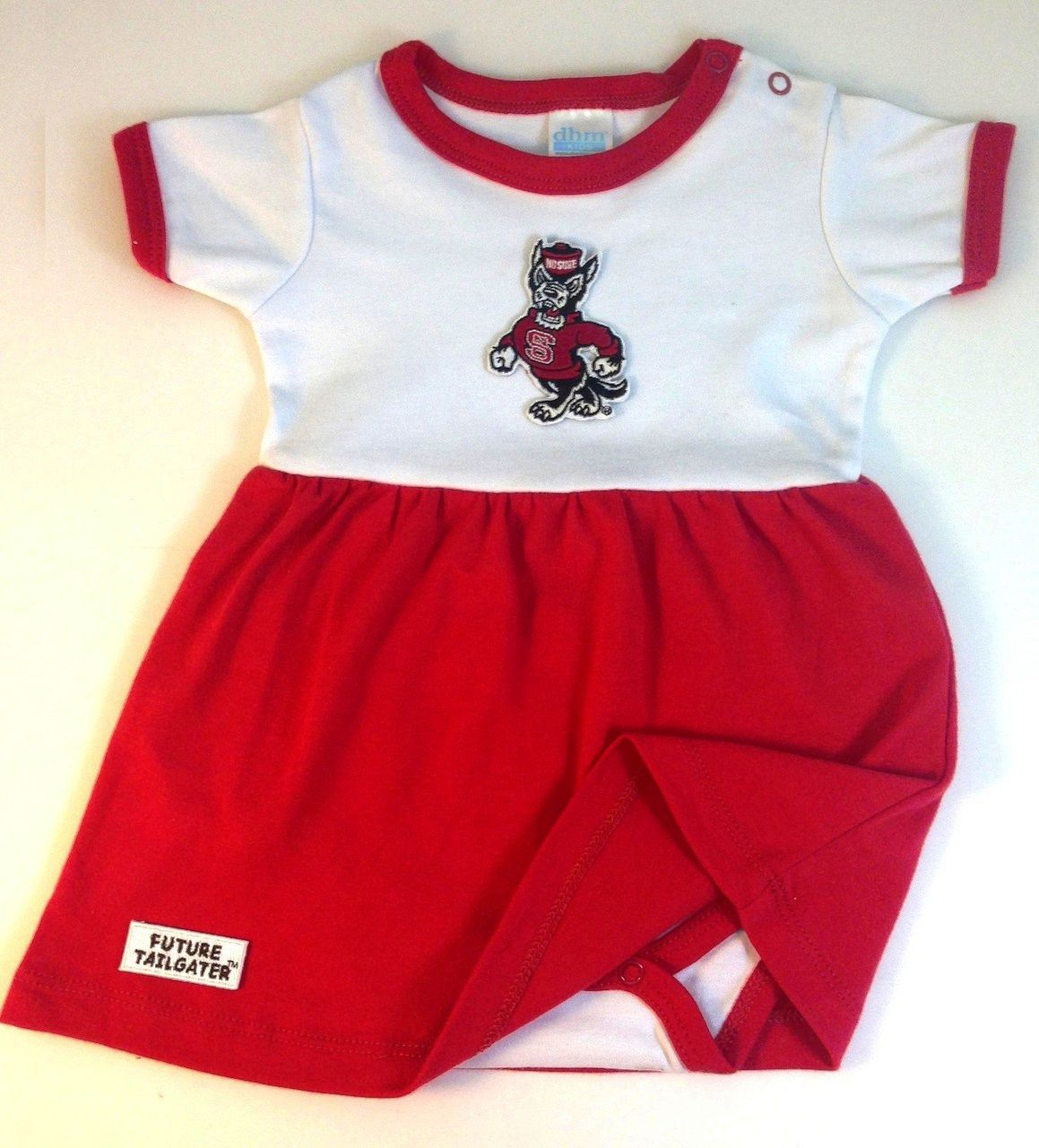 0588fa3f5 Dress to Impress - NC State Wolfpack Future Tailgater Dress by DHM Kids,  $21.99