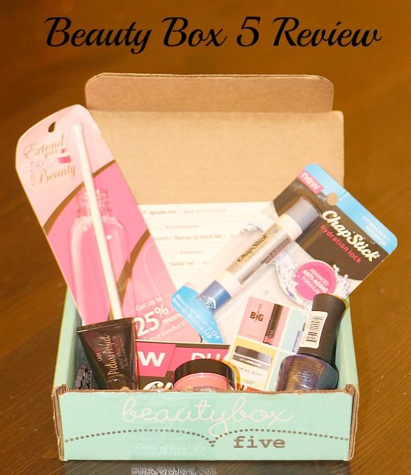 Beauty Box 5 - Monthly Beauty Subscription Service #2014HGG