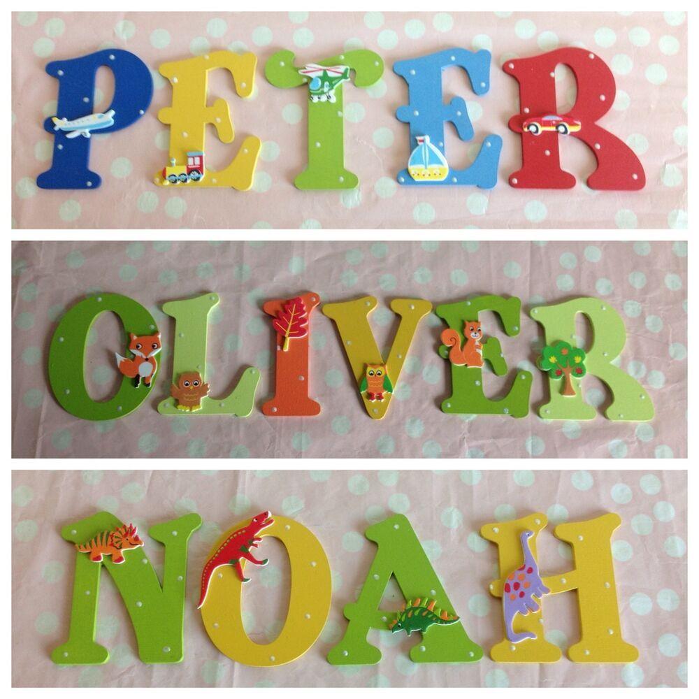 Letter Bedroom Nursery Door Wall Art
