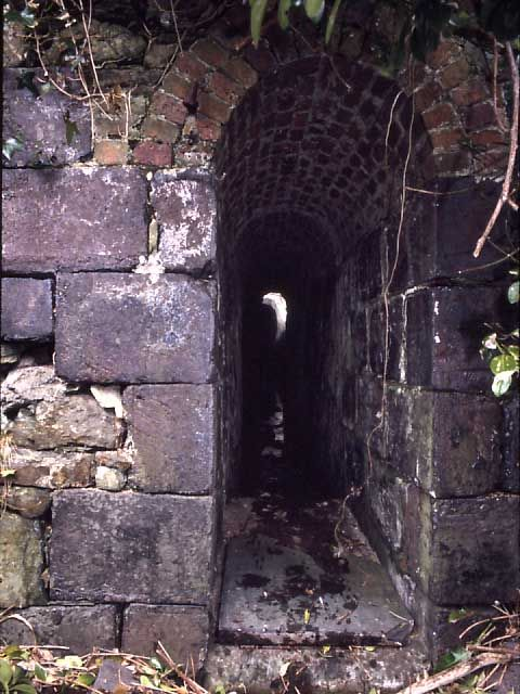 Smuggling tunnel in Hayle