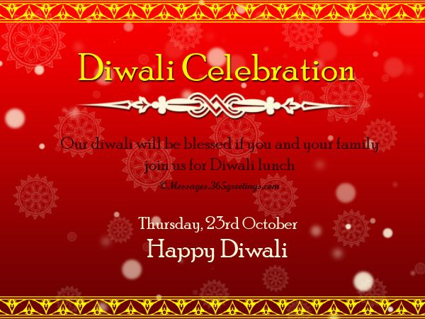 Diwali Invitations And Wordings 365greetings Com Open House Invitation Diwali Diwali Party