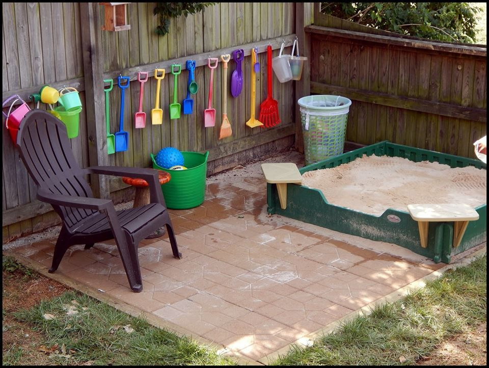 outdoor spaces for your home based childcare daycare