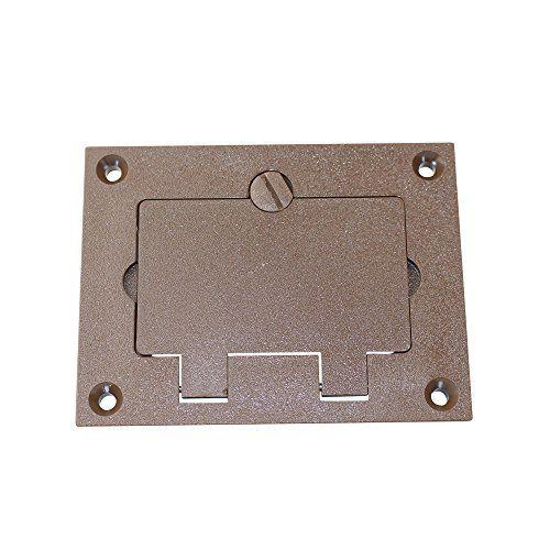Walker 828prgfi Brn Brown Gfi Polycarbonate Floor Box Rec Https Www Amazon Com Dp B00r8mouls Ref Cm Sw R P Floor Boxes Light Accessories Plate Accessories