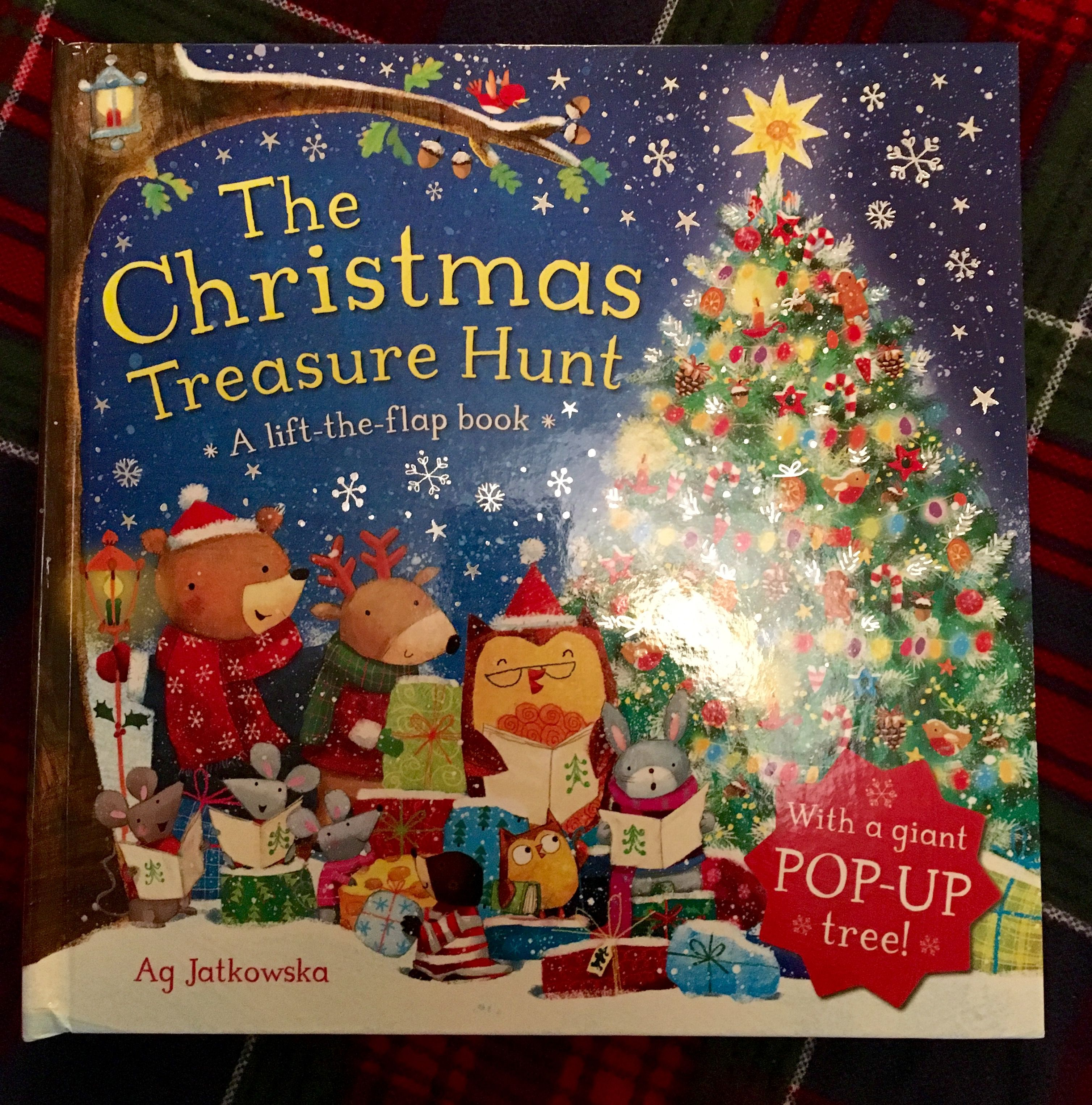 Day 20 of the #2016BookAdventCalendar - The Christmas Treasure Hunt - another pop up book.