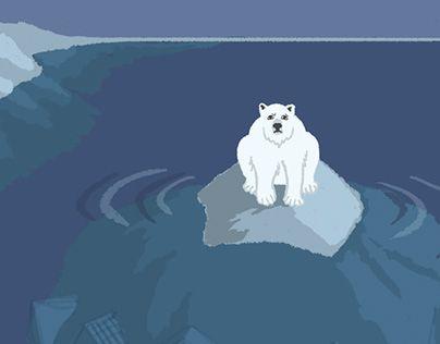 "Check out new work on my @Behance portfolio: ""polar bear on iceberg above ice city"" http://be.net/gallery/34266933/polar-bear-on-iceberg-above-ice-city"