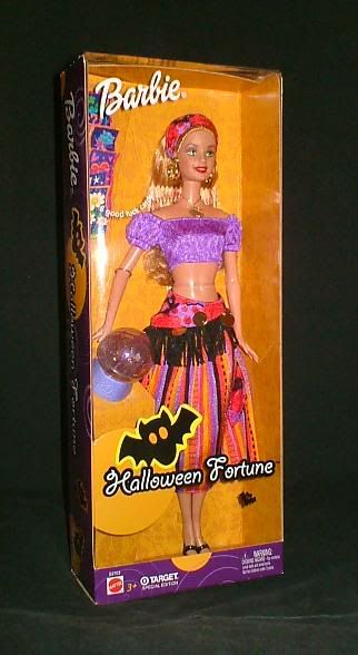 Halloween Fortune Barbie - Target exclusive - from my personal collection