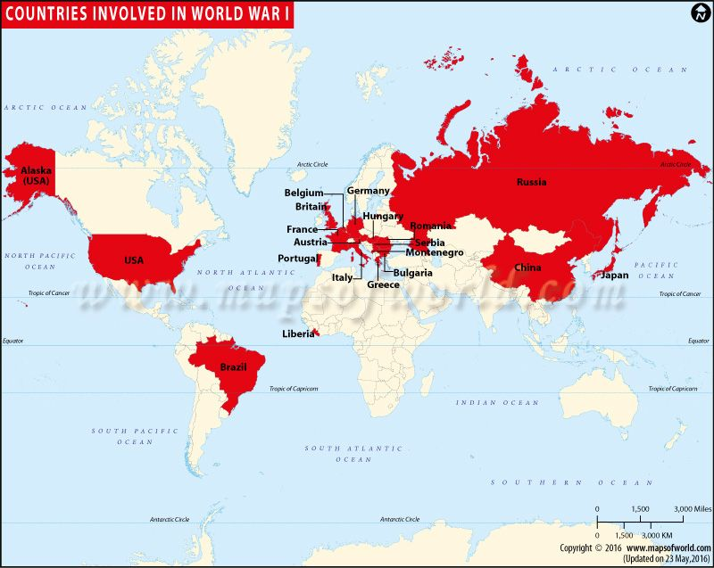 Countries involved world war 1 map of countries involved in world map of countries involved in world war cool ideas pinterest countries involved in world war publicscrutiny Images