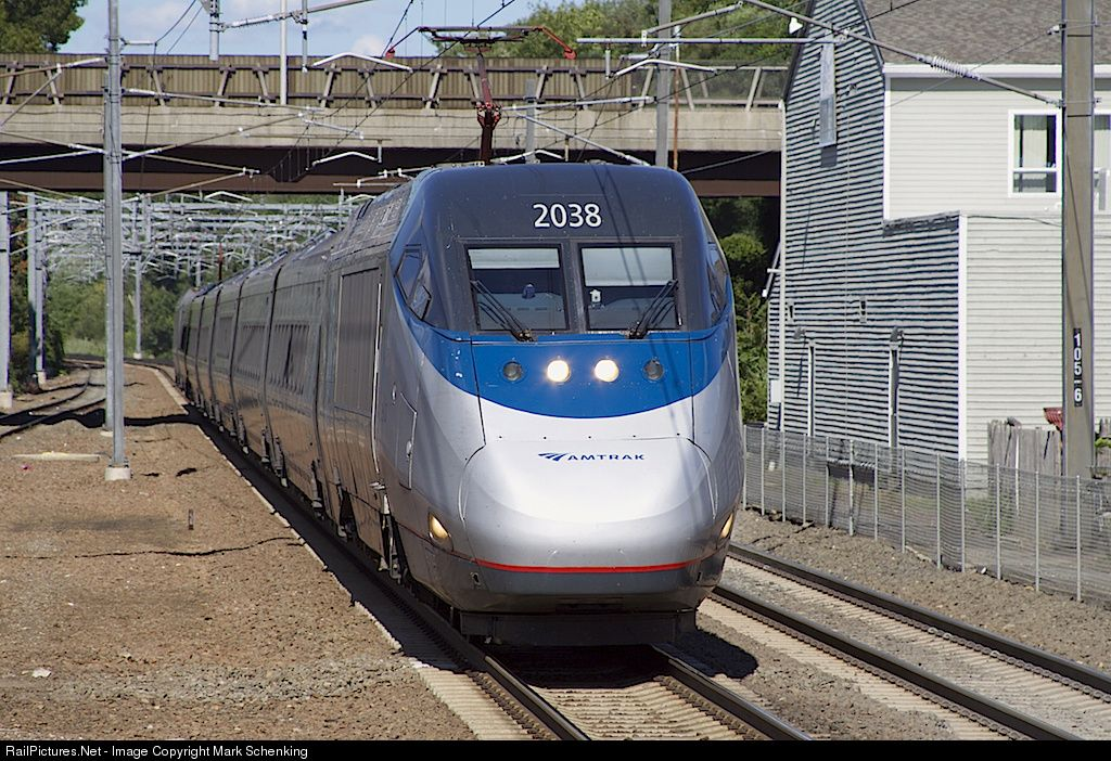 Photo AMTK 2038 Amtrak Bombardier/Alstom