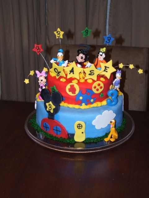 Mickey Mouse Clubhouse Birthday Party Ideas Birthday Cakes