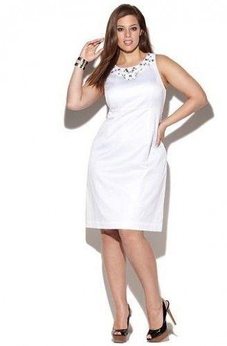 Vestidos blancos para rellenitas