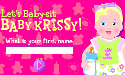 lets baby sit baby krissy  Barbie Baby Sit Game.png (512×309) | Some Random Things I Used to ...