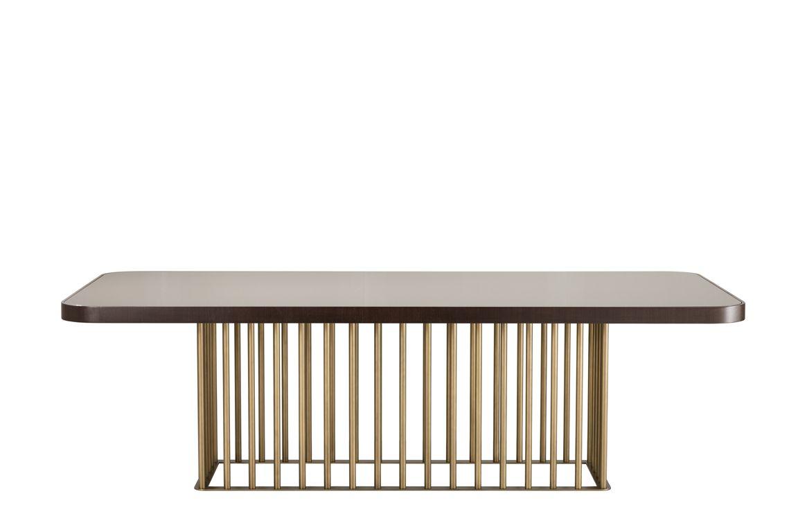 Dining table Empire, design Leonardo Dainelli #interdema #diningtable #b2b