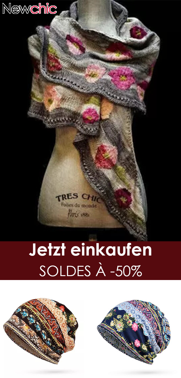 Photo of jetzt kaufen Damen Casual Multicolor Stripes Rundhals Schals & Tücher Crochet Wrap Pattern