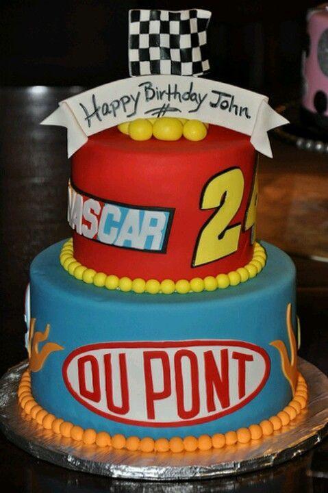 Nascar Birthday Cakes On Pinterest Nascar Nascar Cake And