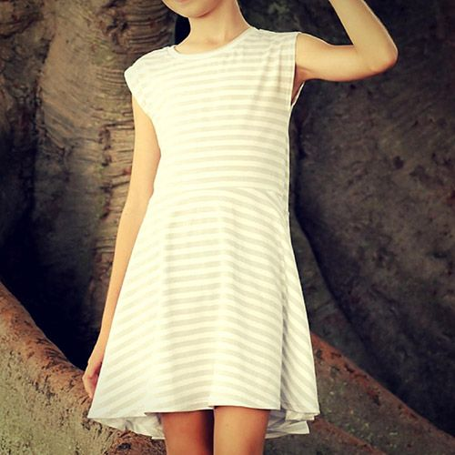 Thread Faction Girls Dolman Sleeve Dress And Top Sewing Pattern