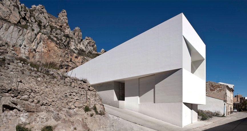 House in Ayora (Valencia) Spain.    by Fran Silvestre Arquitectos