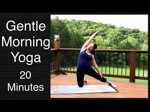 gentle morning yoga flow  20 minutes  youtube  gentle