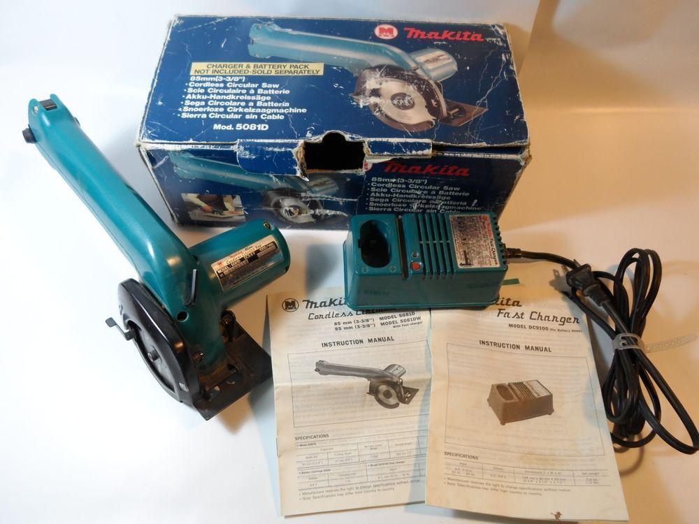 Makita 5081d Cordless 96v Circular Saw 3 38 In Box
