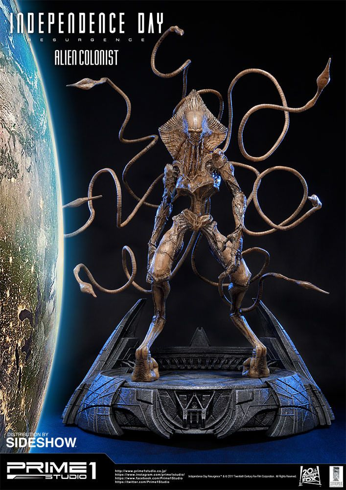 Independence Day: Resurgence Alien Colonist Statue by ...