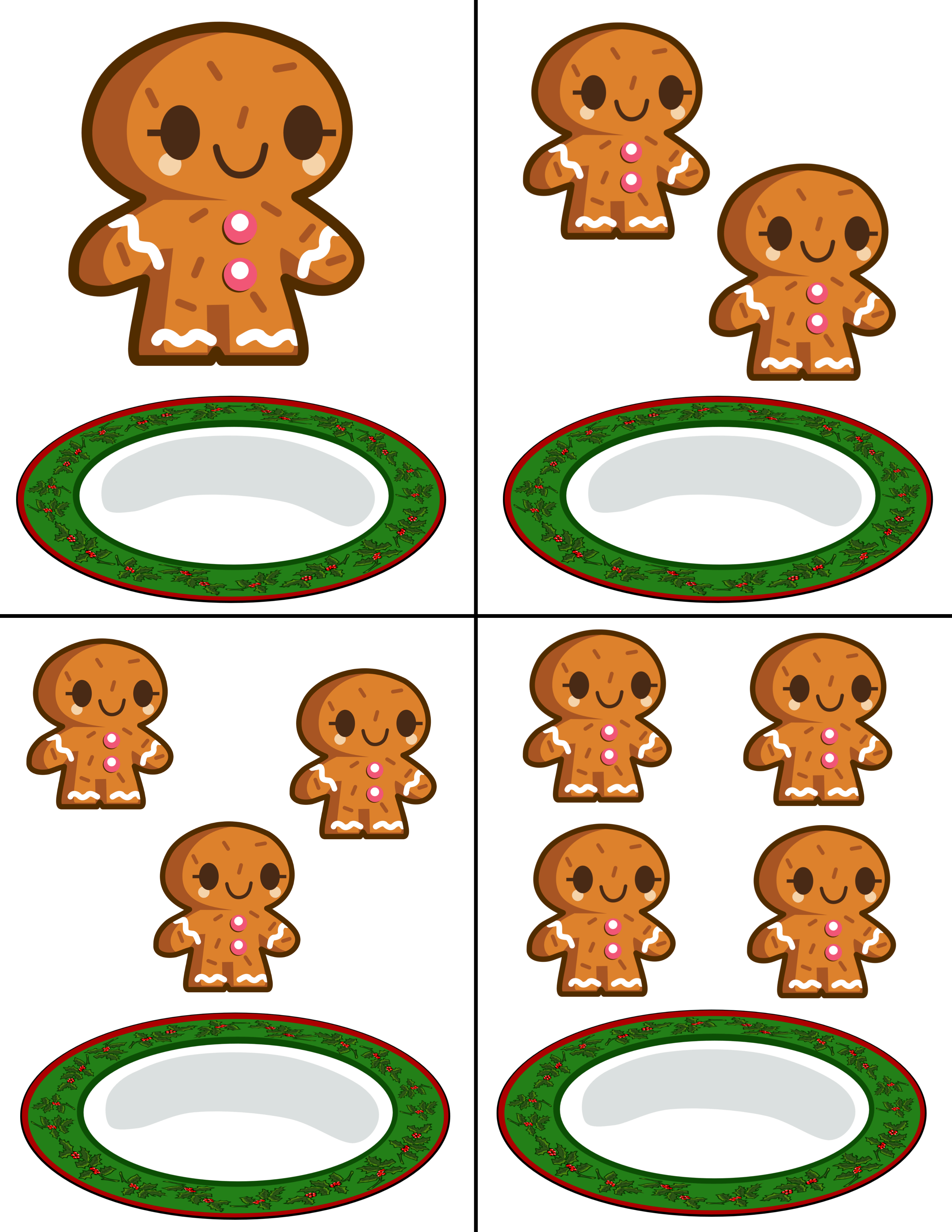 Gingerbread Man Counting