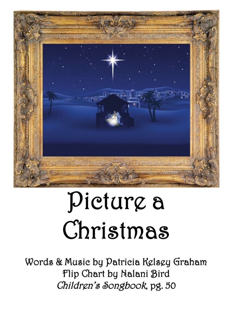 Picture A Christmas Flipchart.Picture A Christmas Flip Chart Primary Christmas Primary