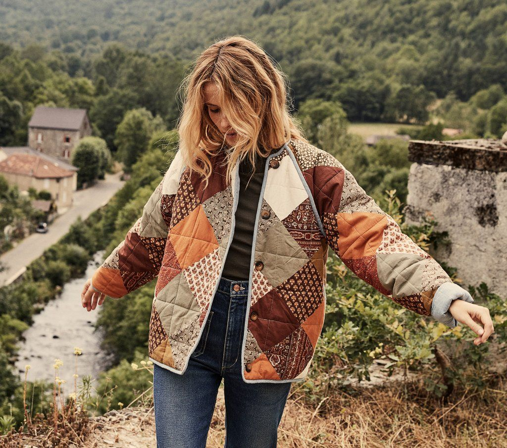 SEDONA JACKET EARTH PRINT MIX | Fashion, Style, Quilted clothes