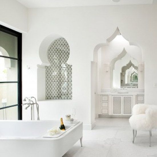 Mooie Marokkaanse badkamers - Ibiza badkamer   Pinterest - Badkamers ...