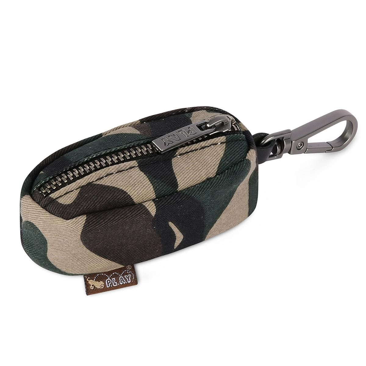 P.L.A.Y. Proper Pup Poop Bag Dispenser - Camo Green at BaxterBoo.com