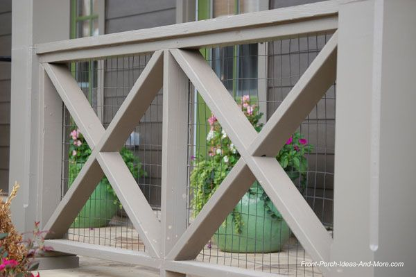 front porch railing ideas, materials and more | porch railings ... - Patio Handrail Ideas