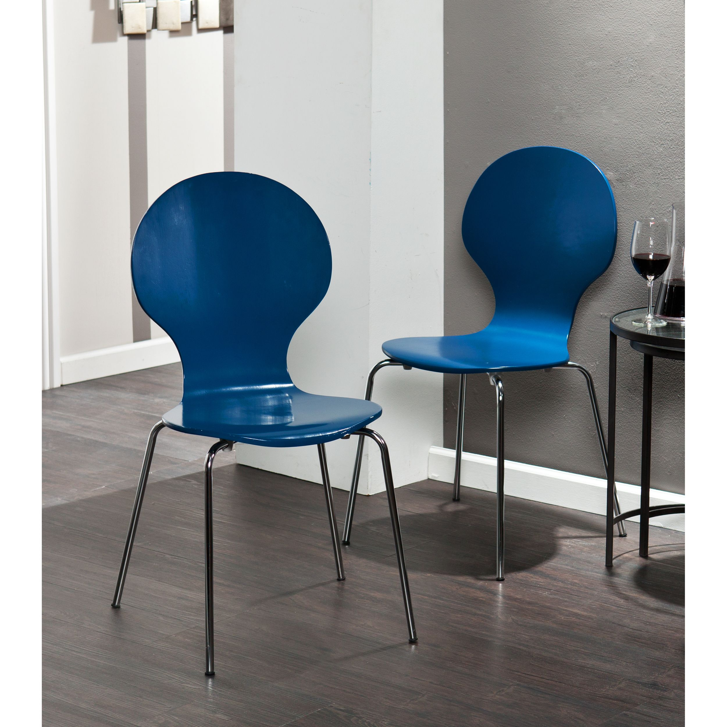 Our Navy Conbie Chairs Make It Easy To Sit Down For A Home