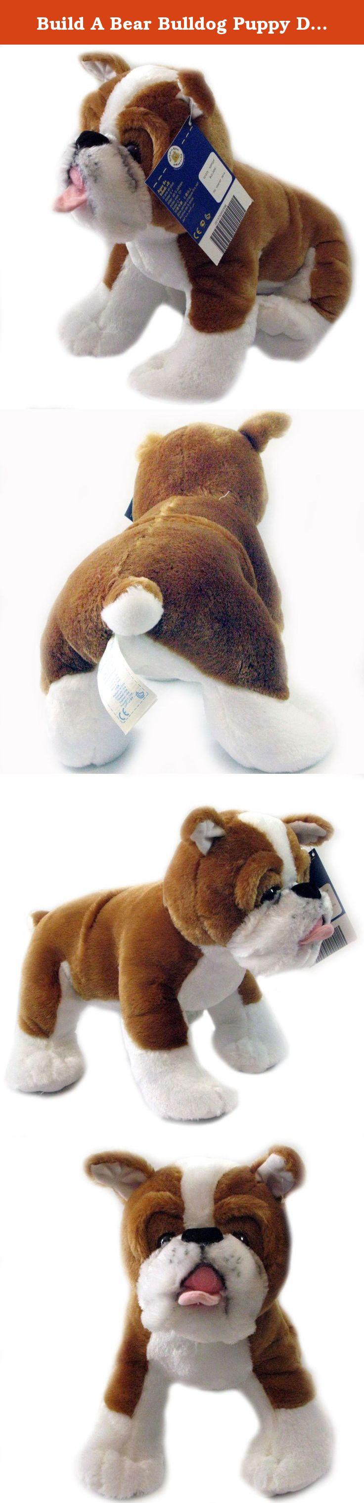Build A Bear Bulldog Puppy Dog Plush Stuffed Animal 15 Inch By Build