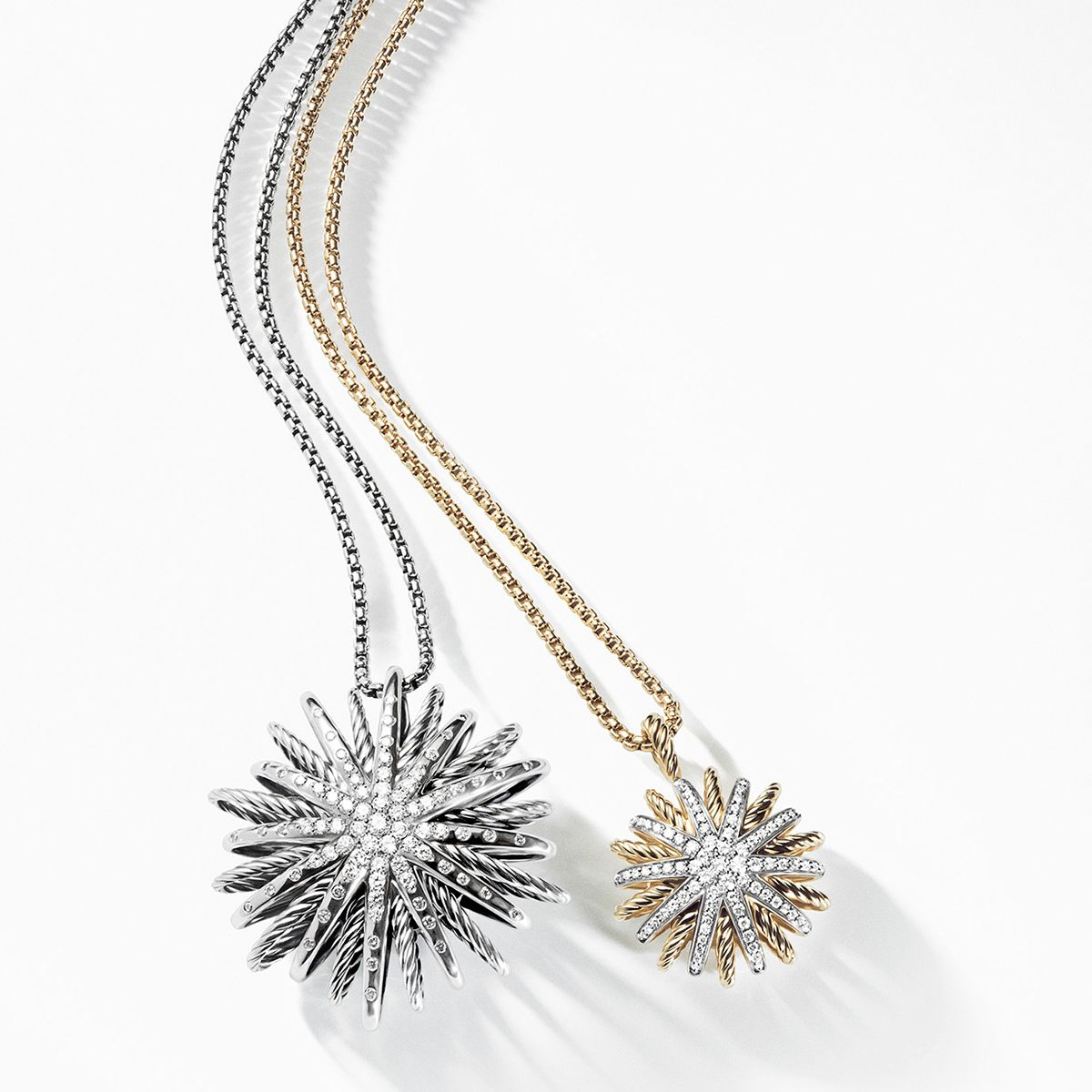 Starburst pendants with diamonds the spring gift guide starburst pendants with diamonds mozeypictures Images