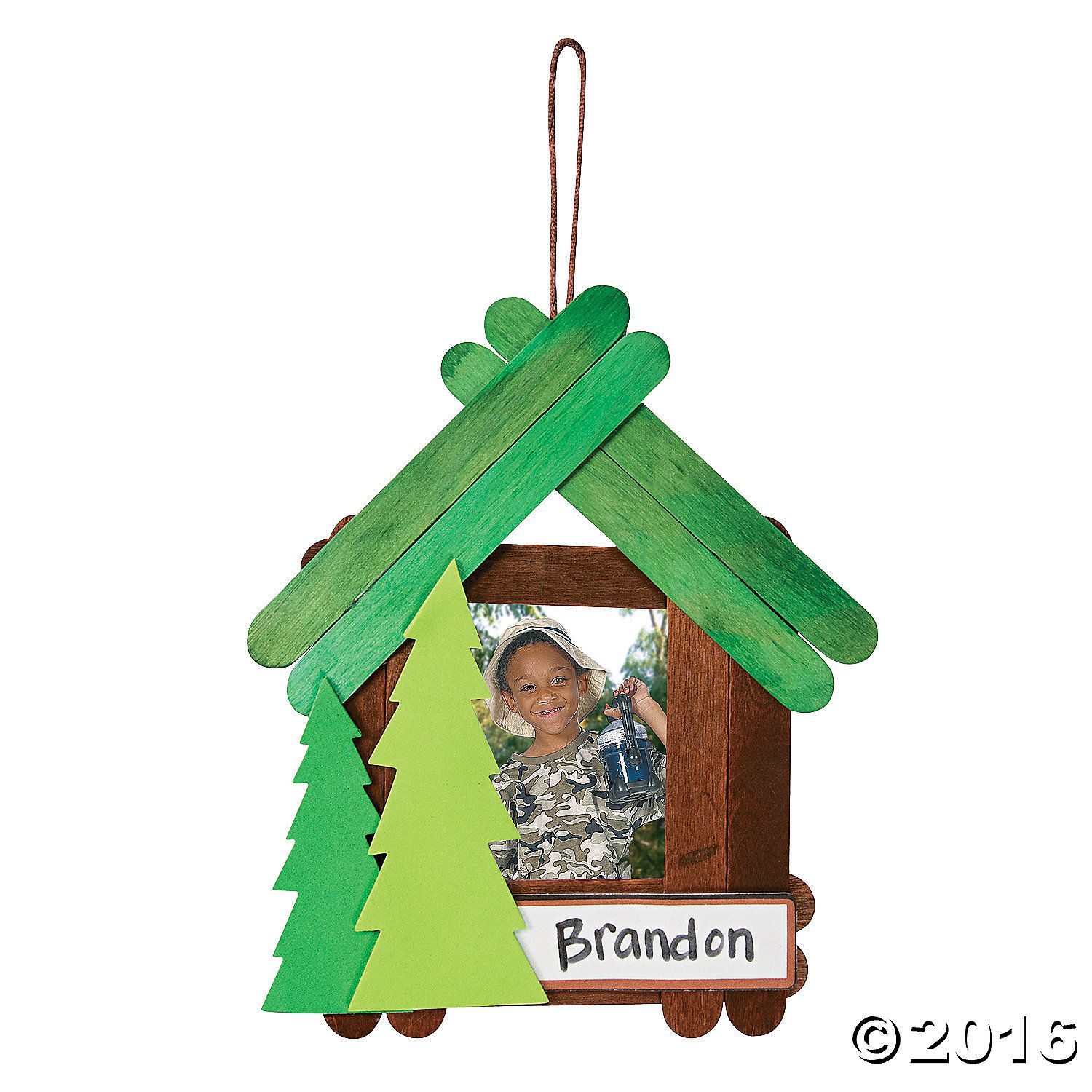 Camp+Picture+Frame+Craft+Kit+-+OrientalTrading.com   Camp classroom ...