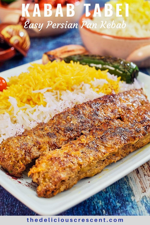 Kabab tabei easy persian pan kabob persian food kebab