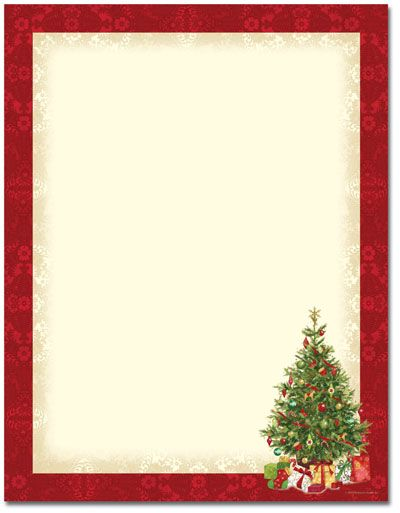 Our Christmas stationery paper designs are perfect for holiday - free xmas letter templates