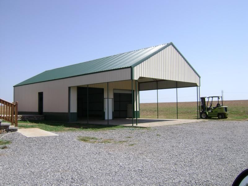 Metal Barns | Building Co  - Oklahoma City Carports