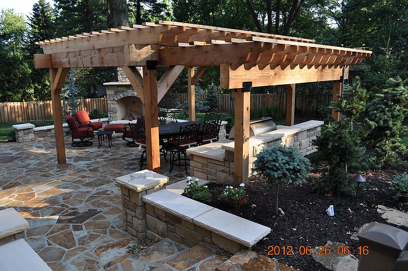 Pergola Over Outdoor Kitchen Google Search Pergola Pergola Garden Pergola Outdoor Living