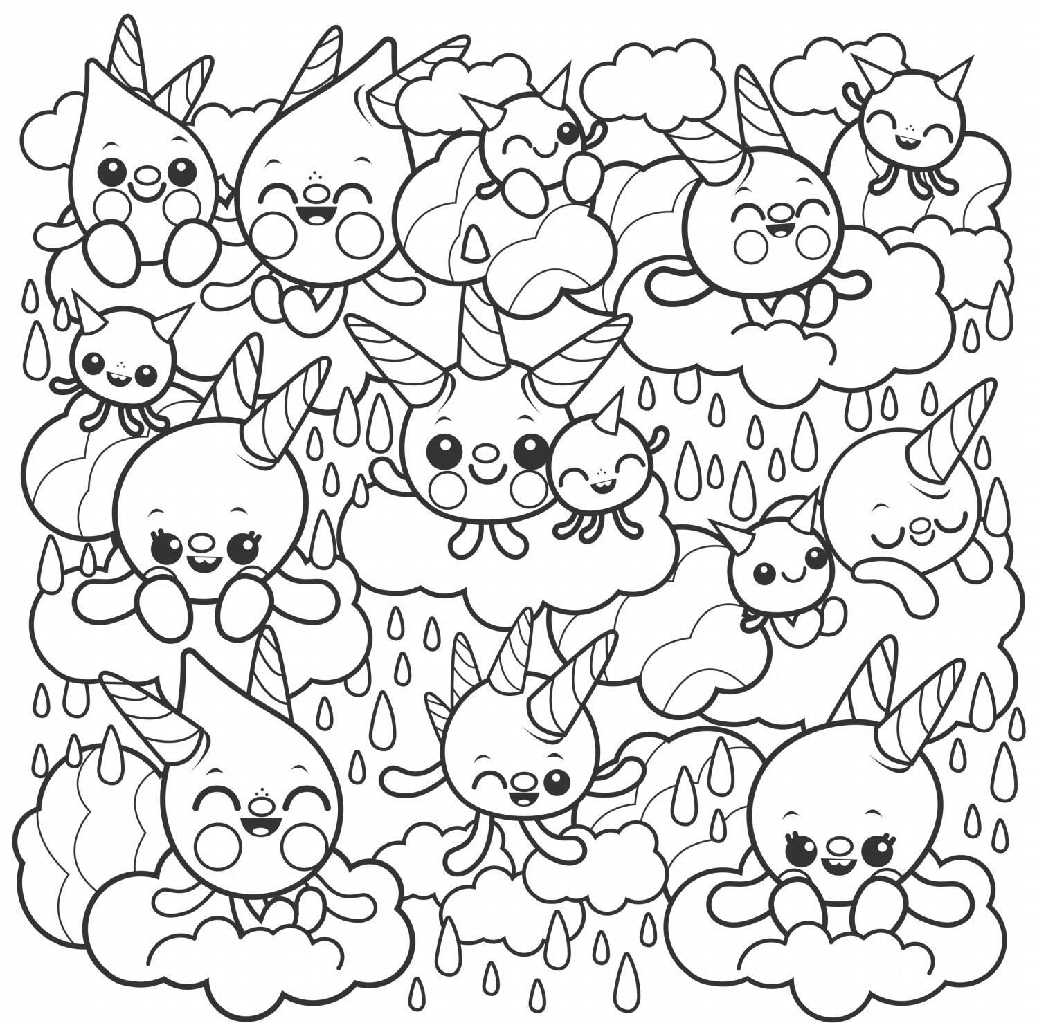 Super Cute Coloring Book Coloring Books Drawing Challenge Coloring Pages