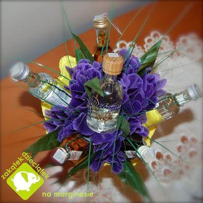 Bukiet Z Alkoholu Table Decorations Hanukkah Wreath Decor