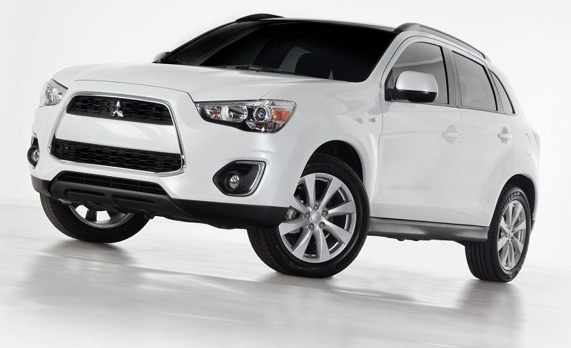 2013 Mitsubishi Outlander Sport Is 7 Passenger Crossover Suv Model