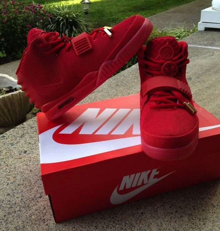 "Red October's Shoes | Nike Air Yeezy 2 ""Red October"" (New Images)"